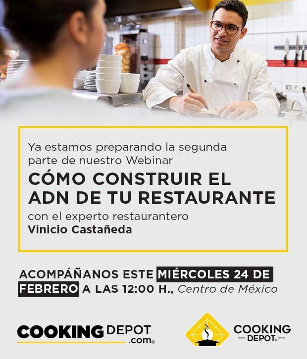 S2-PIEZA GRÁFICA de promoción Webinar 9 Como construir el ADN de tu restaurante parte 2